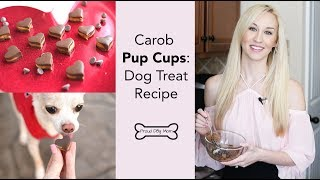 Valentine's Day Pup Cups Dog Treat Recipe | Proud Dog Mom