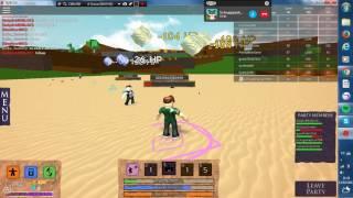 Playing Roblox-Elemental Battlegrounds ft pudding and Pichu