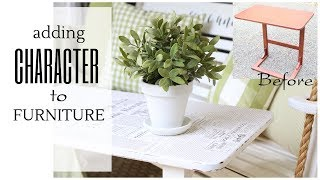 Furniture Makeover Ideas ~ DIY Furniture Makeover ~ Painted Furniture Tutorial