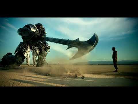 Transformers: The Last Knight: Negociacion de Megatron (HD latino)
