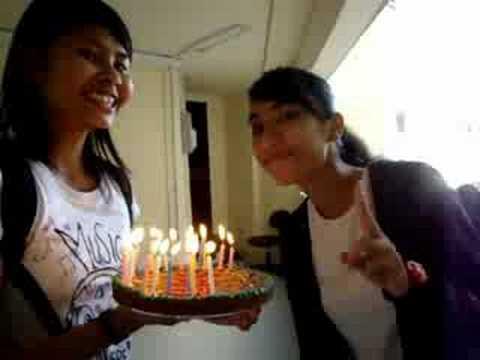 Irna's birthday surprise