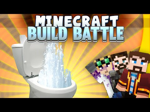 Minecraft - Build Battle - Overflowing Toilets