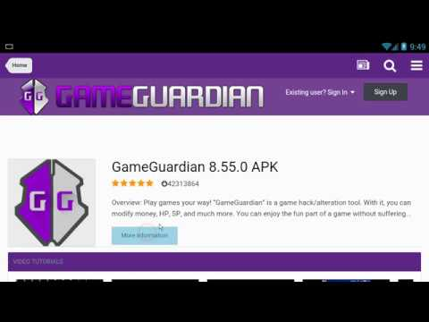 No root [from scratch] (boring and long video) - GameGuardian