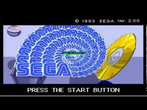SegaCD game boot screen by krizator