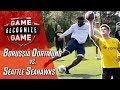 Seahawks Rookies Challenge World Cup Champ Mario Götze and Reyna in Skills Competition!