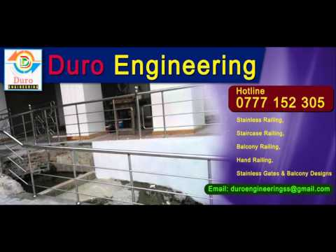 Duro Engineering Homagama | Stainless Steel Railing | Grill and all other Steel Work in Sri Lanka