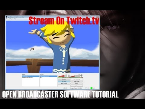 how to start boradcasting on twitch