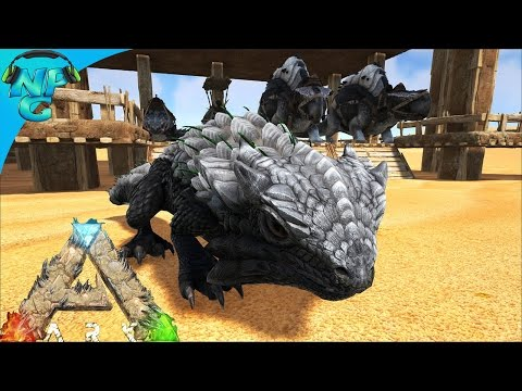 Thorny Dragon Breeding Farm! ARK Survival Evolved - Scorched Earth E19