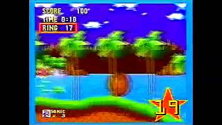 Sonic 1 Nick Arcade Footage Color corrected