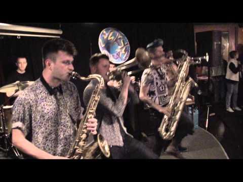 Lucky Chops - medley  Mr. Saxobeat / Funky Town / Bad Romance/ I Feel Good 4/17/15