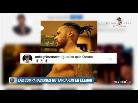 Griezmann le dice a Neymar que se parece a...