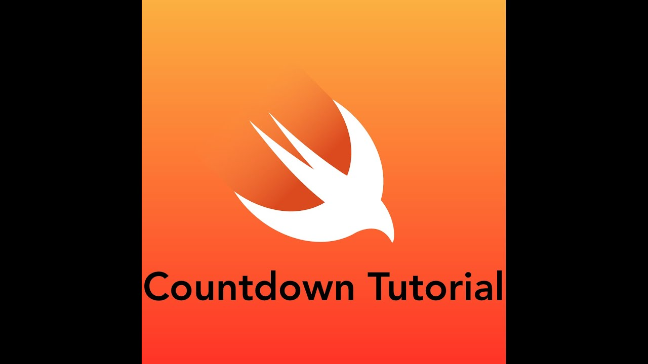 How to Build a Countdown App - Swift 3 in less than 10 minutes