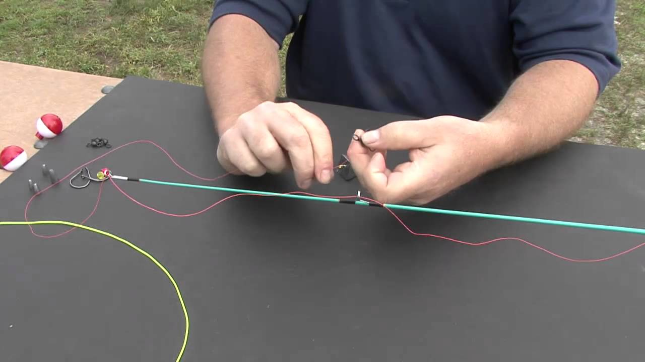 Fishing Knots How To Tie A 3 Way Rig Youtube