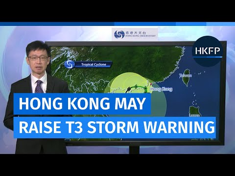 The Observatory has hoisted the T1 storm signal, may raise T3 warning