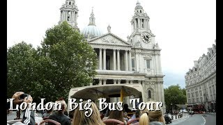 London Sightseeing - Big Bus Tour Visiting Tower Bridge And Buckingham Palace - Blue Orca Digital