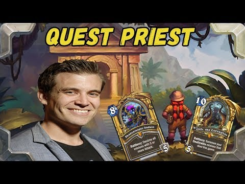Kibler is trying Quest Priest N'Zoth + Shadowreaper anduin (The Frozen Throne)