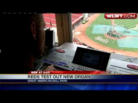 Reds Debut New Organ At GABP