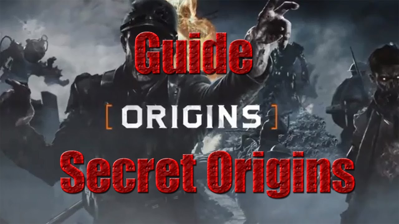Black ops 2 guide complet secret origins youtube - Black ops 2 origins walkthrough ...