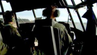 AC-130 Gunship in Action