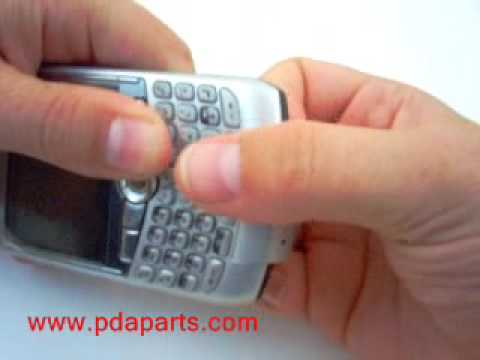 Blackberry Curve 8300 Screen Removal & Take Apart