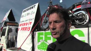 Manifestation FFMC : les motards envahissent Paris