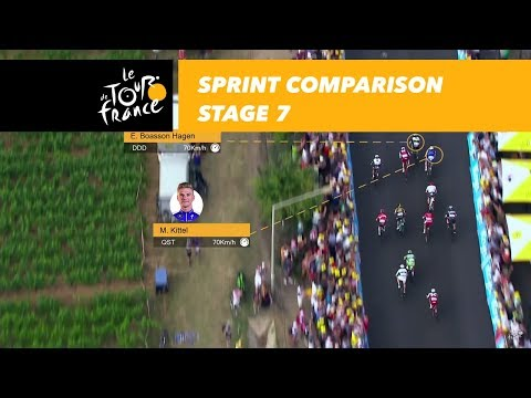 Kittel vs. Boasson Hagen – Stage 7 – Tour de France 2017