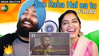 Indian Reaction on Sun rha hai na Tu by Fildan | DA Asia 3 | PunjabiReel TV