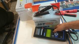 Проверяем аккумуляторы ИСТОК тестером Midtronics