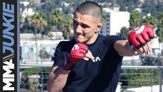 Bellator 214: Aaron Pico full open workout interview