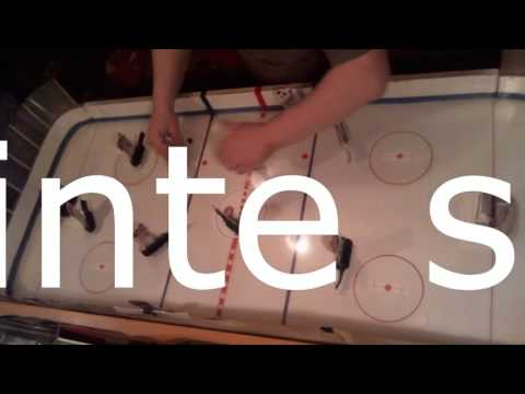 Clip about original tactics table hockey game NHL & WHA vintage seasons