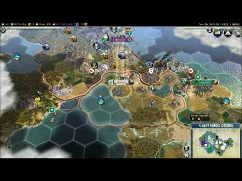 Sid Meier's Civilization® V: Japanese Empire - Military Victory pt.1