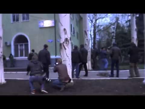 spetsnaz GRU Russia captures the police in ukraine