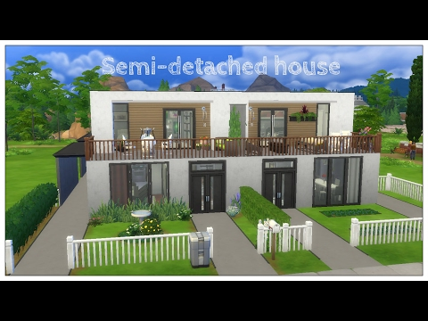 The Sims 4: Semi-detached house #1