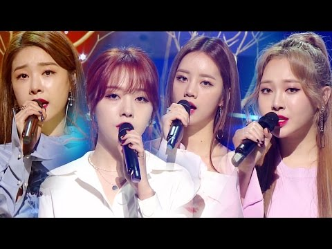 《Comeback Special》 GIRL'S DAY (걸스데이) - Love Again @인기가요 Inkigayo 20170402