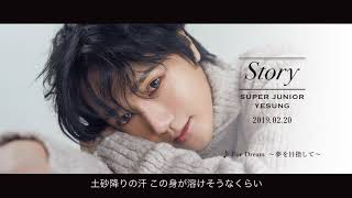 SUPER JUNIOR-YESUNG / 2/20 on sale Japan 1st Full Album『STORY』ティザー映像(♪For Dream ~夢を目指して~)