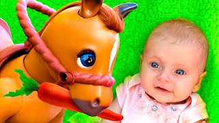 Funny Horse Song & Yes Yes Playground Song +More Kids Nursery Rhymes & English Songs for Children