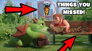 THINGS YOU MISSED IN THE CLASH OF CLANS: COME BACK BUILDER COMMERCIAL! | SECRET UPDATE LEAK 2017!!