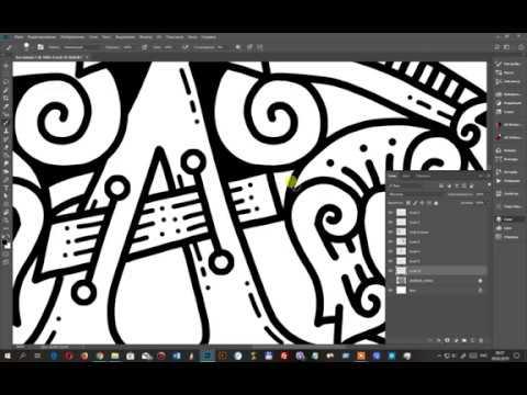 Рисование логотипа в программе фотошоп. Геральдика в кельтском стиле.
