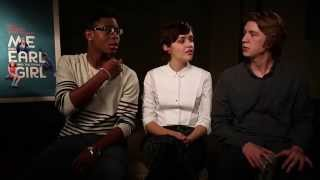 """Me and Earl and The Dying Girl"" Cast Interview"