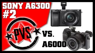 Sony A6300 vs. Sony A6000 - Physical Differences