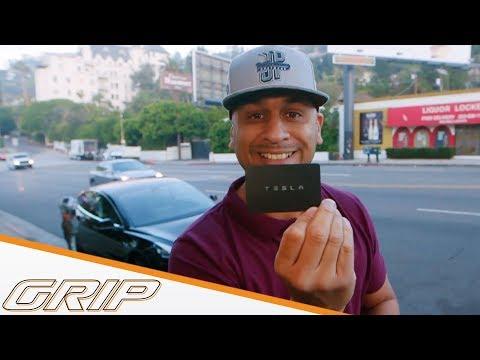 JP checked Tesla in LA! | Tesla Model 3  | GRIP