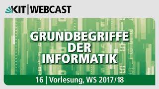 16: Grundbegriffe der Informatik, Vorlesung, WS 2017/18