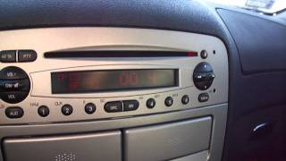 Alfa Romeo 147 Bose Audio test