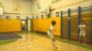 Интересные тренировочные упражнения по футболу