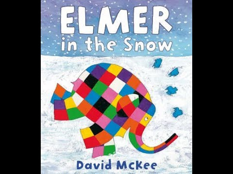 Elmer in the Snow - Bedtime Story Read Aloud