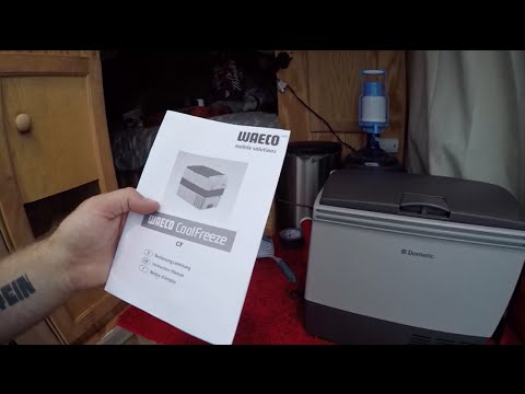 New Dometic Waeco Van Fridge & Night Driving