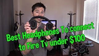 How to Connect Wireless Headphones Headsets to Fire TV Stick without Audio Lag !!!
