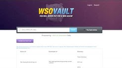 WSO Vault - How To Get Any WSO You Want