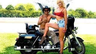 Playboy porn star - Nicolette Shea & my Motorcycle  ( Domingo Martinez Photography )