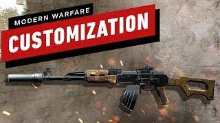 Call of Duty: Modern Warfare - How Extensive Is Gun Customization?